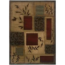 home decorators collection veneer beige 3 ft x 4 ft area rug