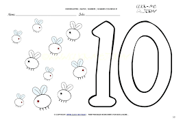 Coloring Pages By Number In Addition To Coloring Pages Number 10 ...