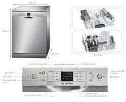 Máy rửa bát Bosch SMS63L08EA - Furniture Home