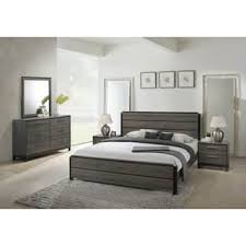 contemporary bedroom furniture cheap.  Contemporary Ioana 187 Antique Grey Finish Wood Bed Room Set King Size Bed Dresser For Contemporary Bedroom Furniture Cheap O