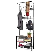 Coat Rack Heavy Duty Homfa Coat Racks  Fashion Heavy Duty Garment Rack With Shelves 100 46