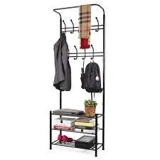 Coat Rack Heavy Duty Homfa Coat Racks Fashion Heavy Duty Garment Rack With Shelves 100 46