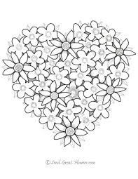 Wouldn't it be great if you could add a little color? Hearts Coloring Page Coloring Home