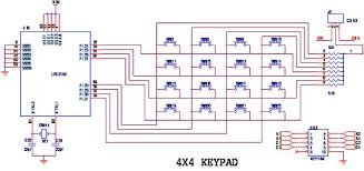 how to interface keypad lpc arm advanced development board circuit diagram to interface keypad lpc2148 arm7 slicker