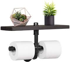 industrial dual toilet paper holder