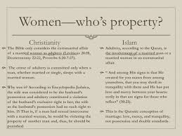 women in islam and christianity a comparison 5 women who s property christianity islam