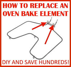 how to replace an oven heating element removeandreplace com oven heating element replacement