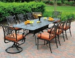 the grand tuscany collection 8 person cast aluminum patio furniture dining set 9