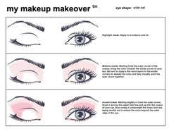 Mary Kay Eye Makeup Application Chart Lajoshrich Com