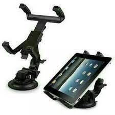 Giá đỡ chắc chắn - Giá kẹp hít máy tính bảng, iPad trên ô tô và bề mặt  phẳng (bao chắc)