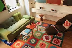 Carpet Tiles For Kitchen Kitchen Adorable Living Room Decor Green Sofa Bed Two Kinf Teak