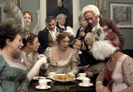 pride and prejudice mini series a review  pride and prejudice 1995 allison steadman as mrs bennet