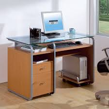 clear office desk. Top 78 Mean Modern Computer Desk Clear Glass Writing Office Furniture Corner Originality