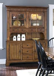 dining table hutch. solid oak dining table and hutch rustic finish formal w options thomasville s