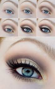easy step by step smokey eye makeup tutorials for green eyes