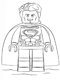 Superman denotes his power and strength by showing the fist and this action of this superhero has superman crazy kids will be fascinated when they will find all the good characters in one sheet and will be encouraged to color them with interest. Lego Superman Coloring Pages Free Printable Ant Man Coloring Pages