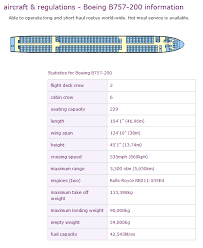 Monarch Airlines Boeing 757 200 Aircraft Seating Chart