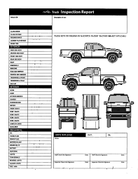Vehicle Inspection Form Vehicle Inspection Form Template Professional Templates 4