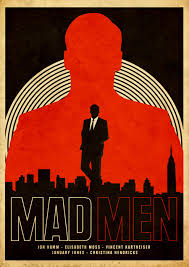 one of the best tv shows ever minimal movie posters what i cartaz vintage para mad men