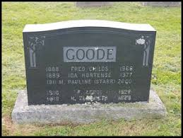 Fred Childs Goode (1888-1966) | WikiTree FREE Family Tree