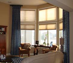 window treatments for picture windows.  For Tall Windows After With Window Treatments For Picture D