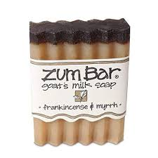 <b>ZUM</b> Frankincense and Myrrh <b>Soap Bar</b>, 3 OZ | Natural <b>goat milk</b> ...