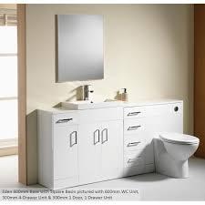 bathroom modular furniture. Qualitex - Genesis Eden Additional Semi Modular Units Bathroom Furniture