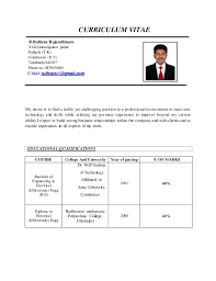 Resume Vs Curriculum Vitae Mesmerizing New Updated RESUME