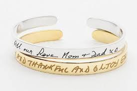 15 off handwritten bracelet handwritten jewelry custom handwriting jewelry in sterling silver handwritten cuff bangle jb02