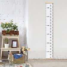 Buy Kids Personalized Rocket Ruler Height Chart In Cheap