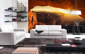 Wall Mural For Living Room Scenic Living Room Wall Murals