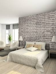 Small Picture Best 25 Brick wallpaper bedroom ideas on Pinterest Brick
