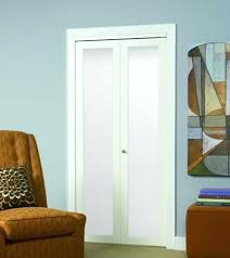 bifold closet doors with glass. Contemporary Glass Series 1 Lite Framed Door Home Designs Frosted Glass Bifold Doors Tempered  Closet White  Throughout With O