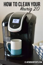 does your keurig 2 0 need descaling is it brewing slowly or not acting right