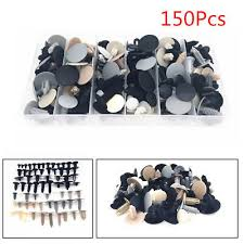 150X Plastic Fastener Clip Rivet With Box For <b>Car Cover Roof</b> ...