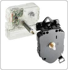 <b>Clock Parts</b> Movements Motors Dials Hands and Clock <b>Kits</b>