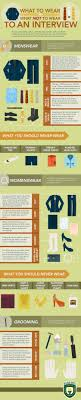what to wear and what not to wear to an interview ly what to wear and what not to wear to an interview infographic