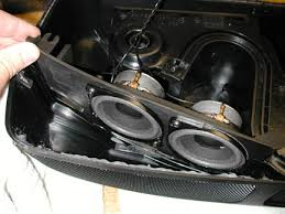 pelican technical article boxster rear speaker installation the speakers and the speaker wiring harness must be oriented so the harness cable exits on the right side of the storage compartment figure 13