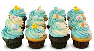 Baby Shower Its A Boy Dozen Trophy Cupcakes Party