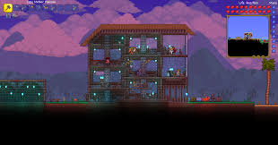 Terraria House Designs No Wood Boxes A Building Guide Terraria Community Forums
