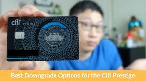 Citi Prestige New Card Design Citi Prestige Downgrade Path 450 Af To 0 Costco Dividend Double Cash
