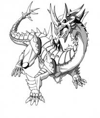 Bakugan Free Printable Coloring Pages For Kids