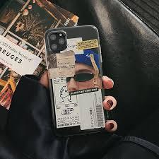 Benda atau barang yang bernaung dalam angka main 11 ini yaitu kipas. Ins Funny Lable Stickers Transparent Phone Case For Iphone 12 Mini 11 Pro Max Se 2020 Xr Xs X 7 8 Plus Clear Tpu Fashion Cover Phone Case Covers Aliexpress