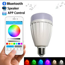 Smart Music Lighting Speaker Manual Us 7 35 17 Off E27 Smart App Controller Rgb Wireless Bluetooth Speaker Bulb Music Playing Dimmable Led Rgb Music Intelligent Bulb Light Lamp In Led