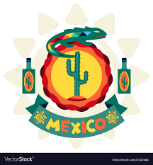 Mexican Style Graphic Design Ethnic Mexican Background Design In Native Style