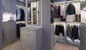 walk in closet systems. His And Hers Custom LED Lit Walk In Closets Systems Closet C
