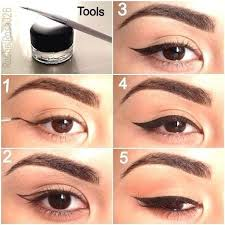 ideas for easy wingliner tips with step by step makeup tutorials