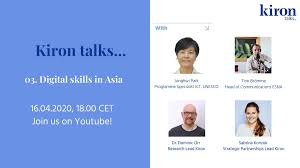 """Dominic Orr on Twitter: """"It was a great pleasure to talk to Jonghwi Park  about her work at UNESCO and the challenges of digital skills. See our  Kiron talks… recording in our @"""