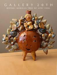 MEXICAN TREE OF LIFE! ALTAR 50s MODESTA MATA AURELIO FLORES MID CENTURY  POTTERY | eBay