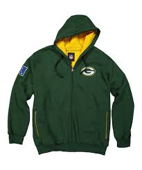 green bay packers zip up sherpa hoo